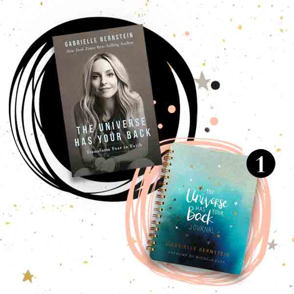 The Universe Has Your Back book and journal by Gabby Bernstein
