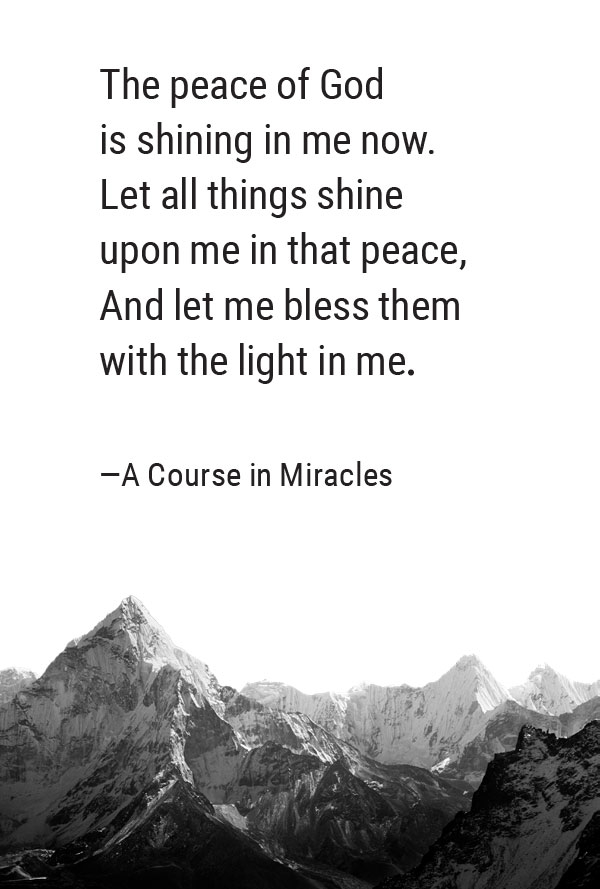 Prayer from Lesson 188 of 'A Course in Miracles' | Gabby Bernstein's favorite prayers for peace