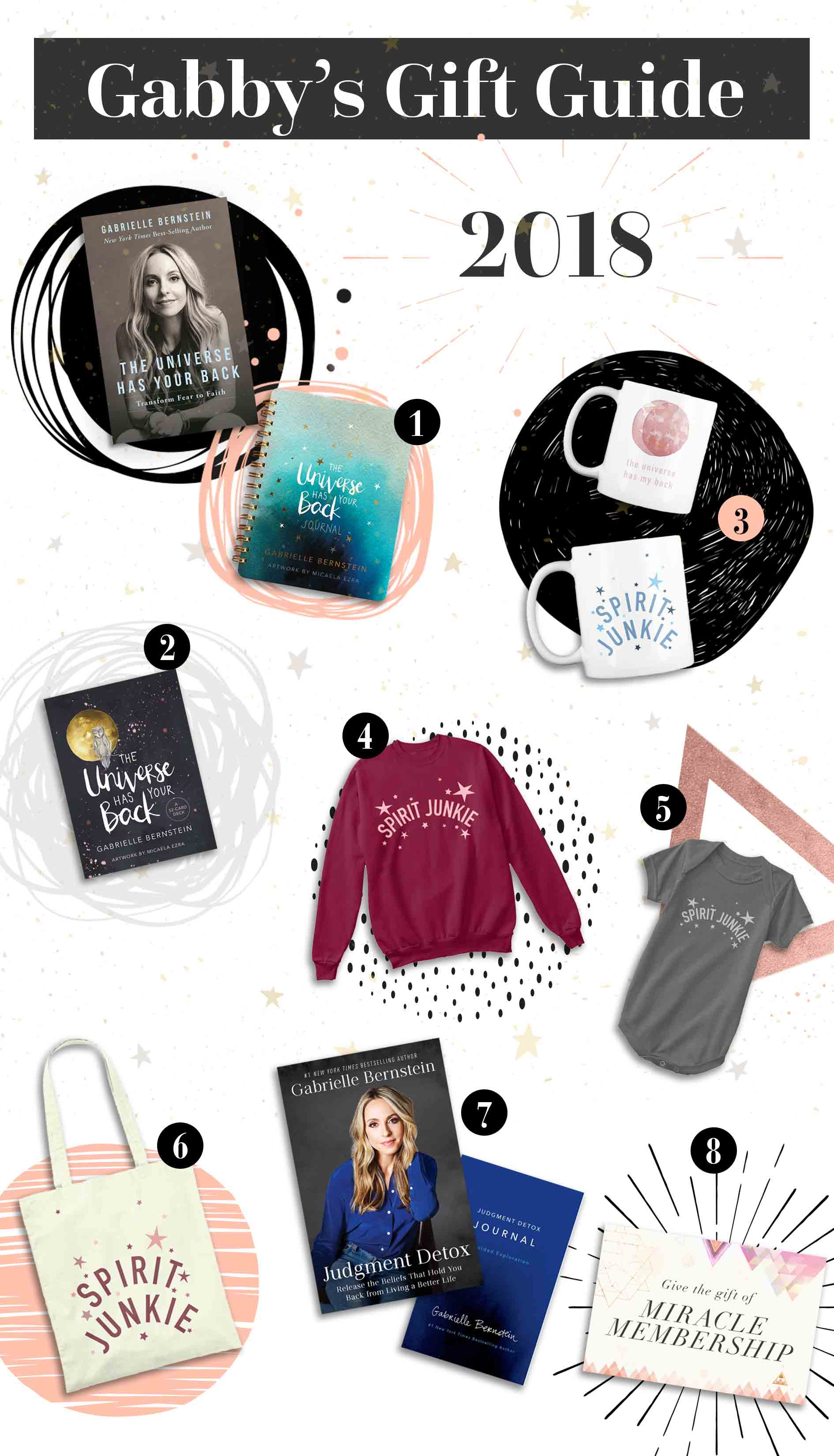 Gabby Bernstein's 2018 holiday gift guide