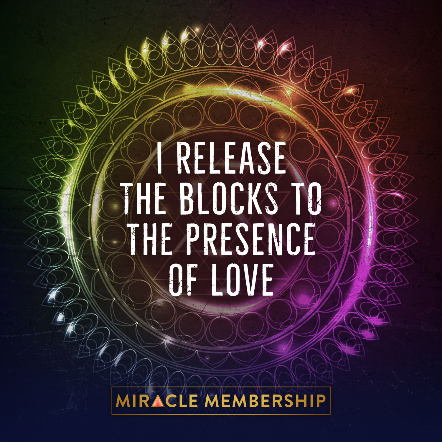 I release the blocks to the presence of love | You are guided