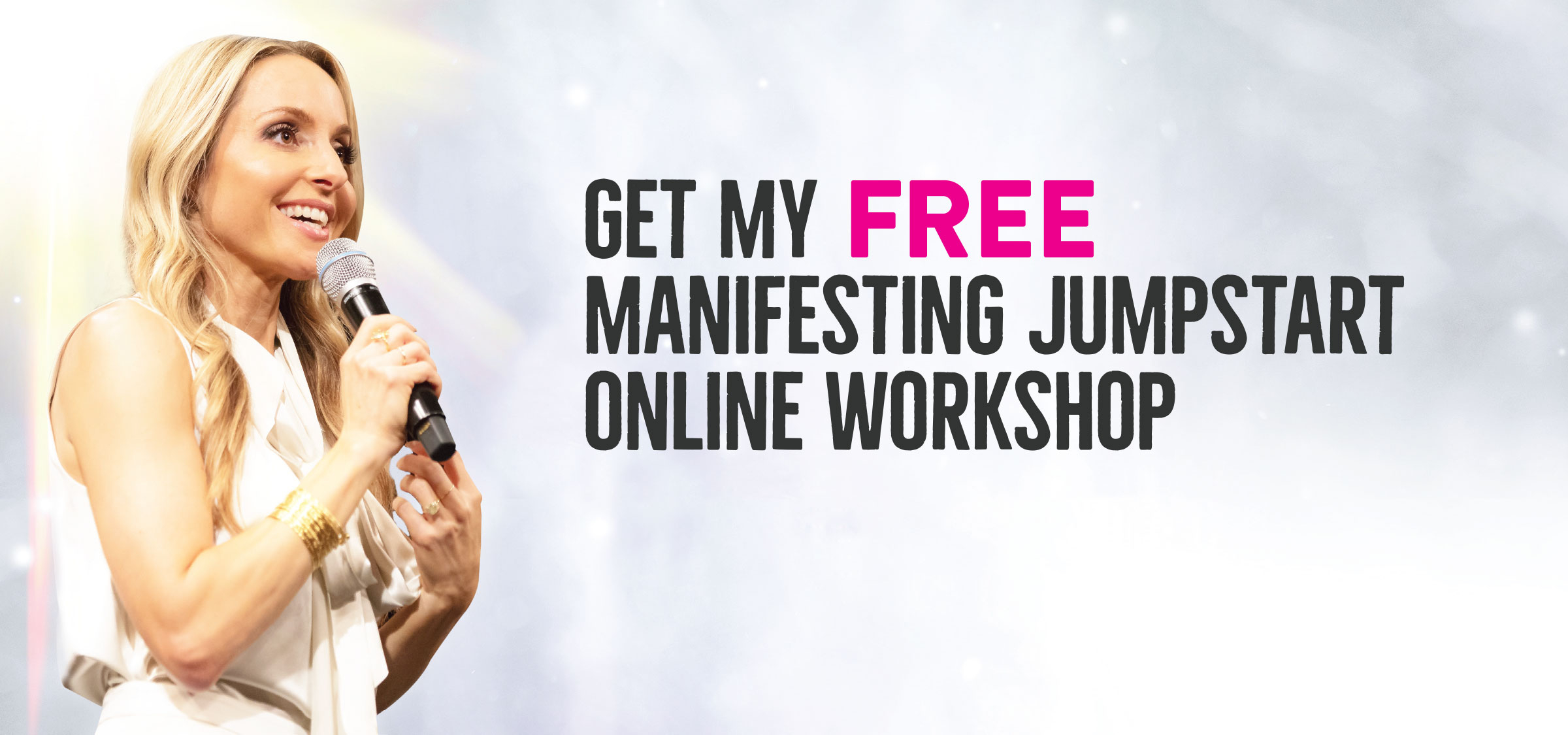 Order Super Attractor by Gabby Bernstein and get the Manifesting Jumpstart Workshop free