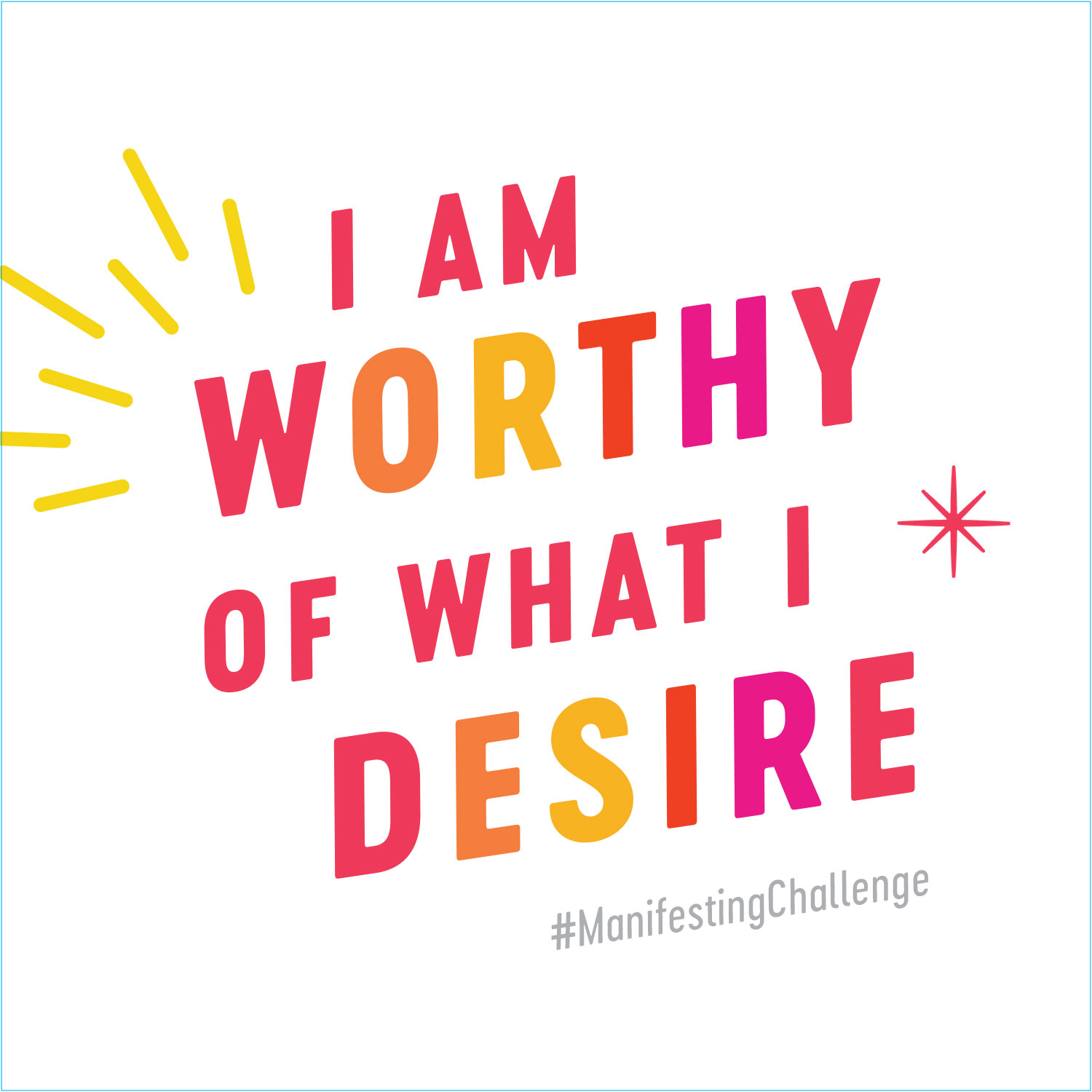 I am worthy of what I desire | Manifesting Challenge by Gabby Bernstein