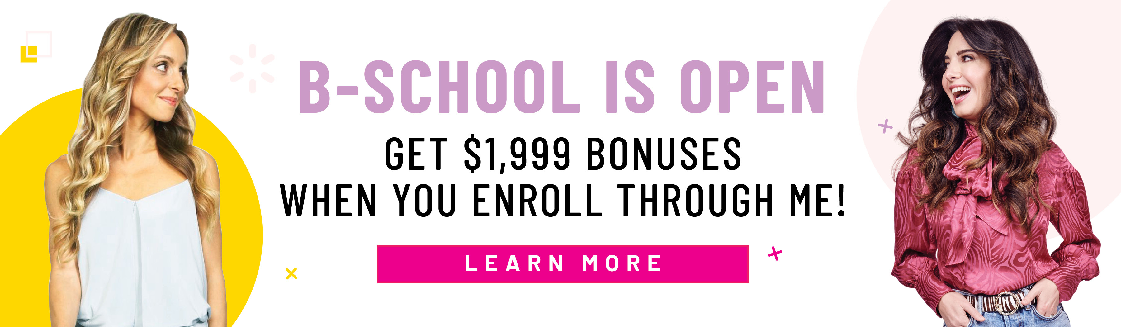 Marie Forleo B-School now open - register through Gabby Bernstein to get bonuses