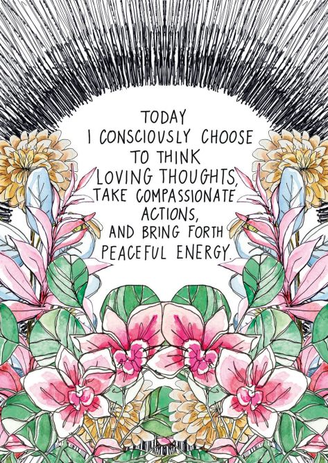 Spirit Junkie Consciously Choose to Think Loving Thoughts