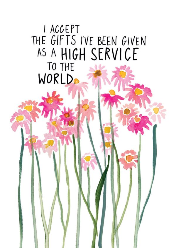 High service of the world, gabby bernstein