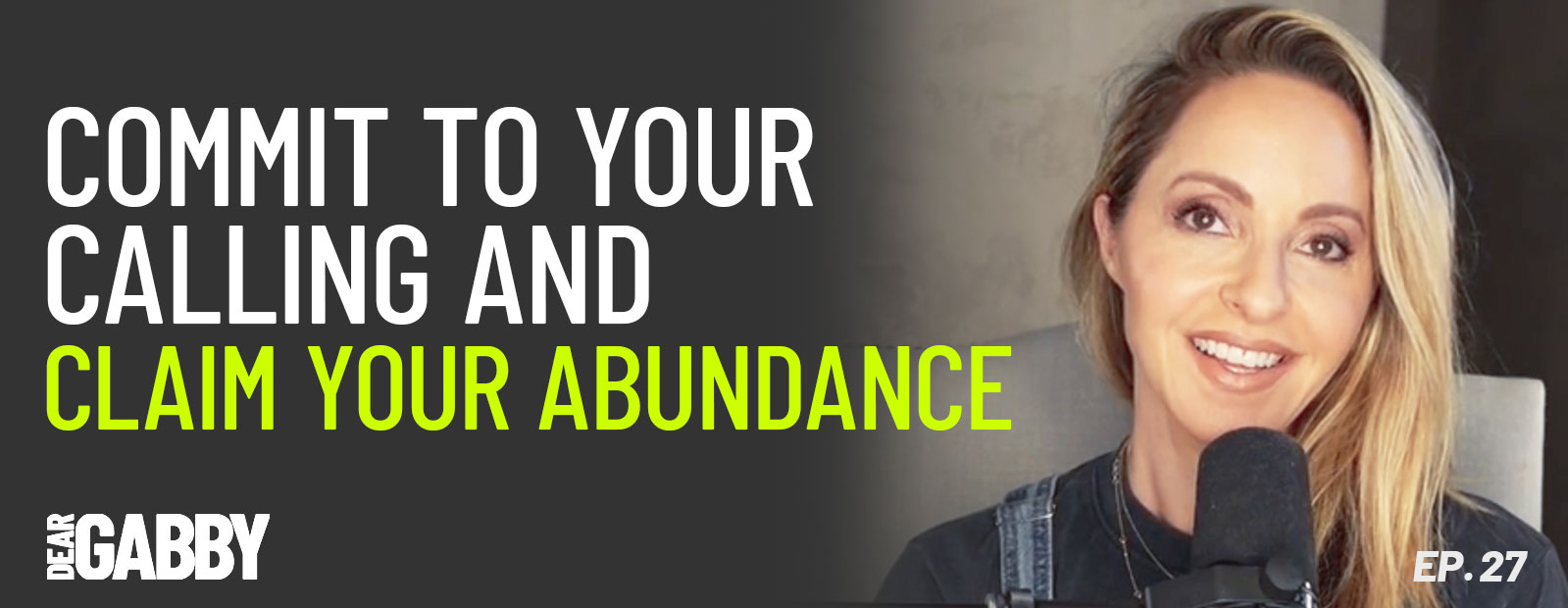 Commit to Your Calling and Claim Your Abundance
