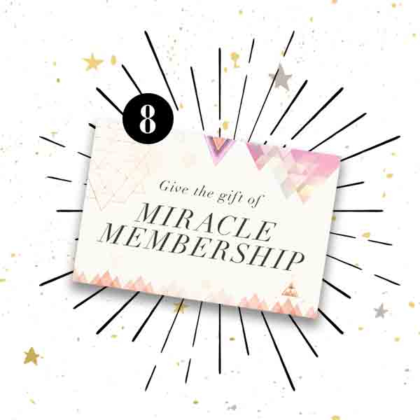 Give the gift of Gabby Bernstein's Miracle Membership