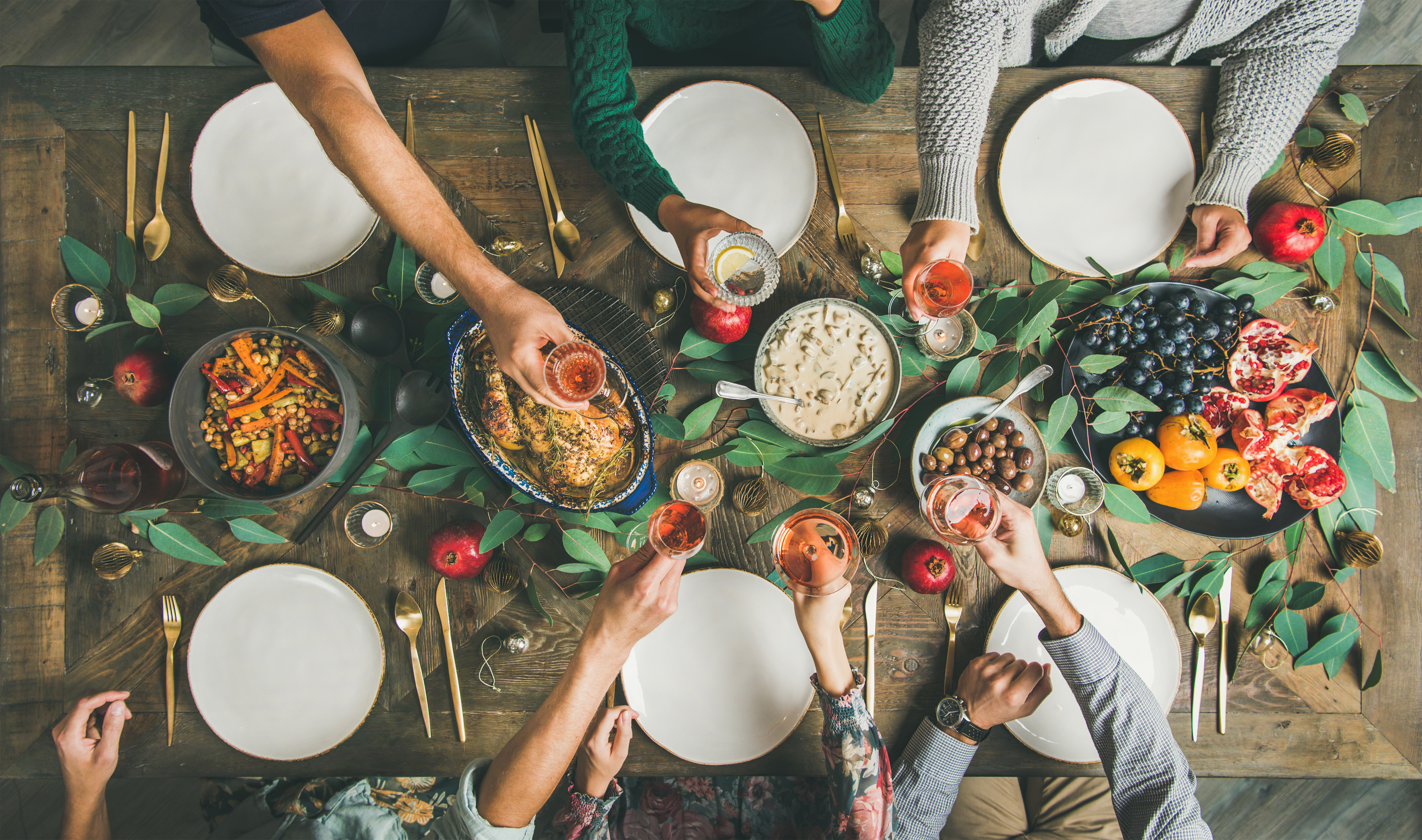 Holiday dinner | Gabby Bernstein's 5 ways to avoid family drama during the holiday season