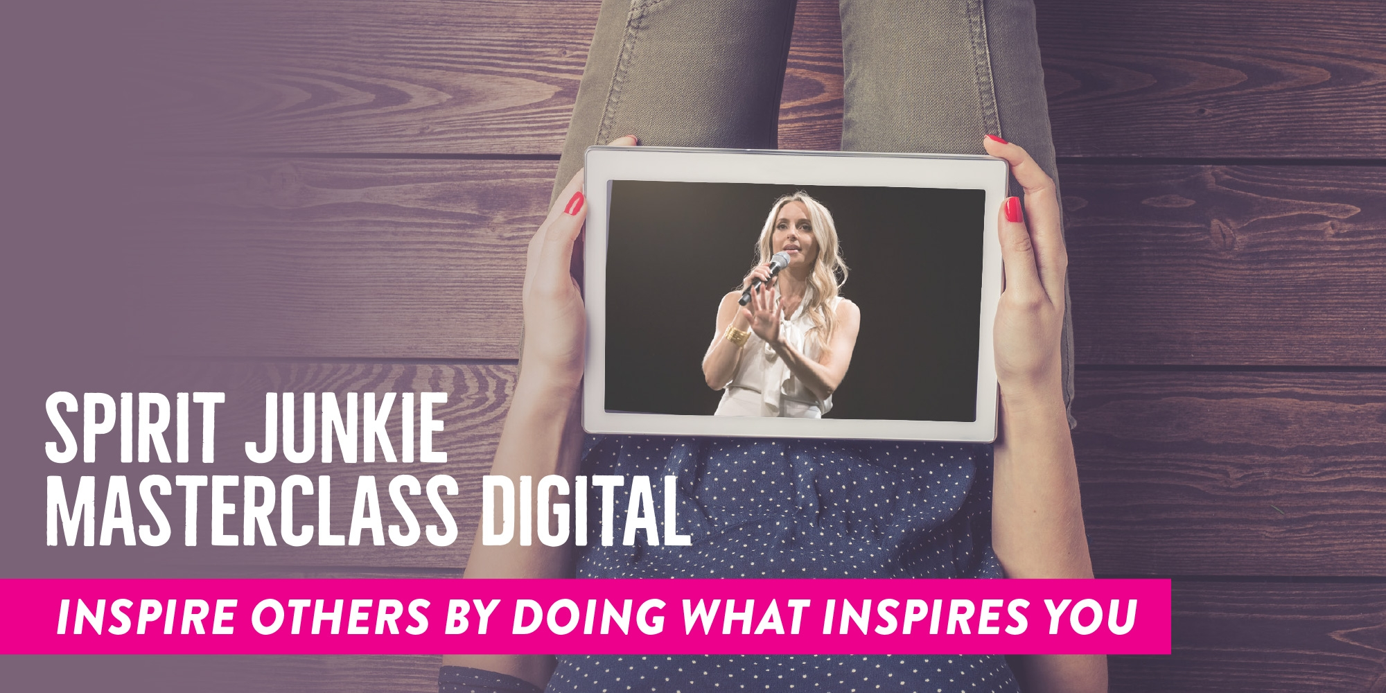 Spirit Junkie Masterclass Digital Course by Gabby Bernstein