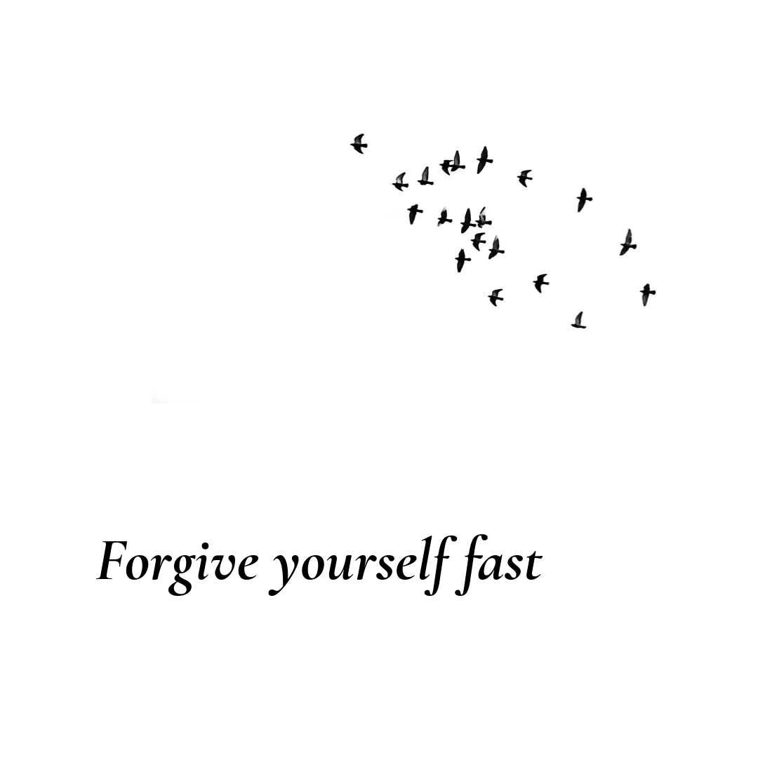 Forgive yourself fast - How to apologize