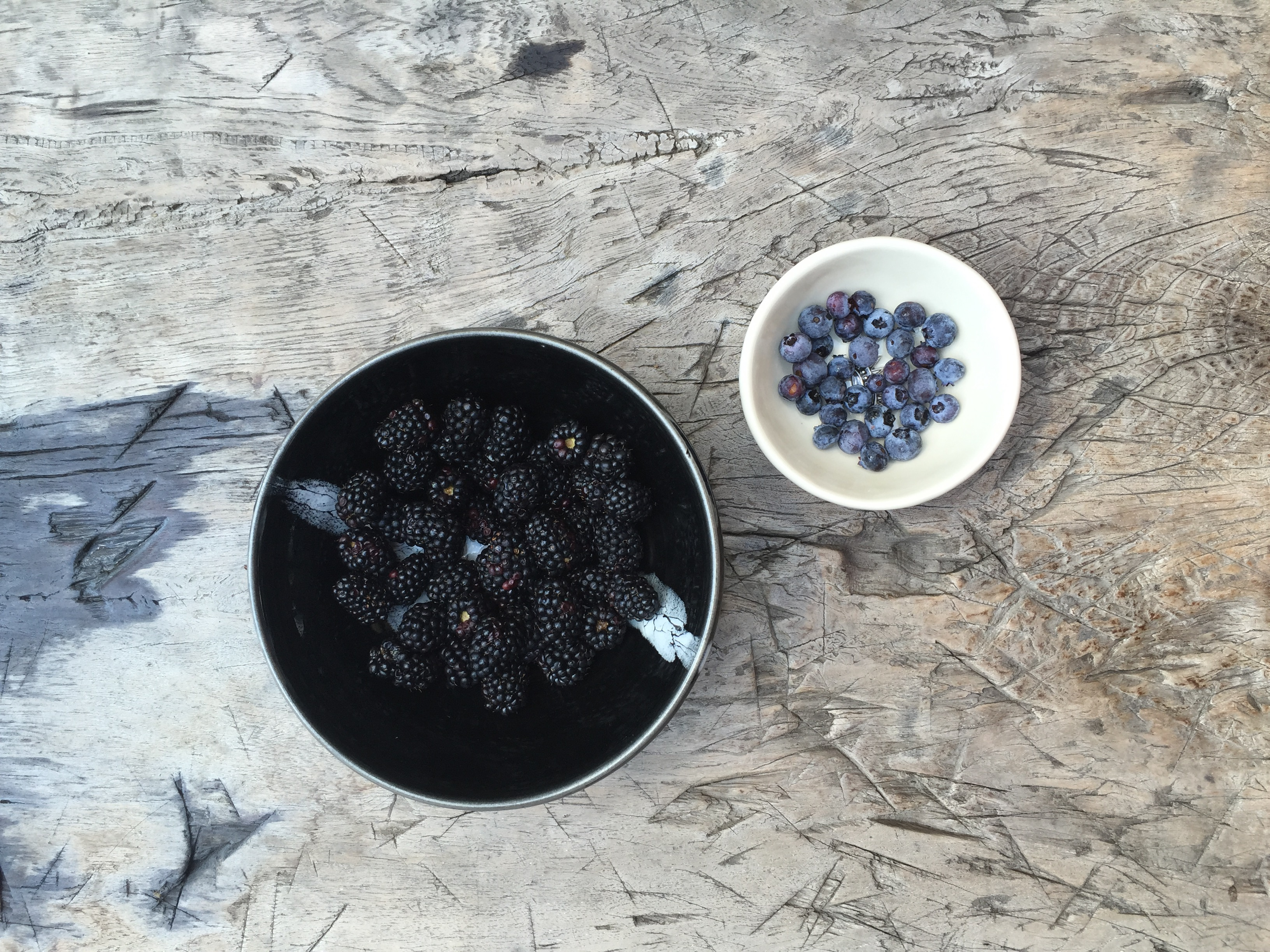 blackberries and blueberries | gut health