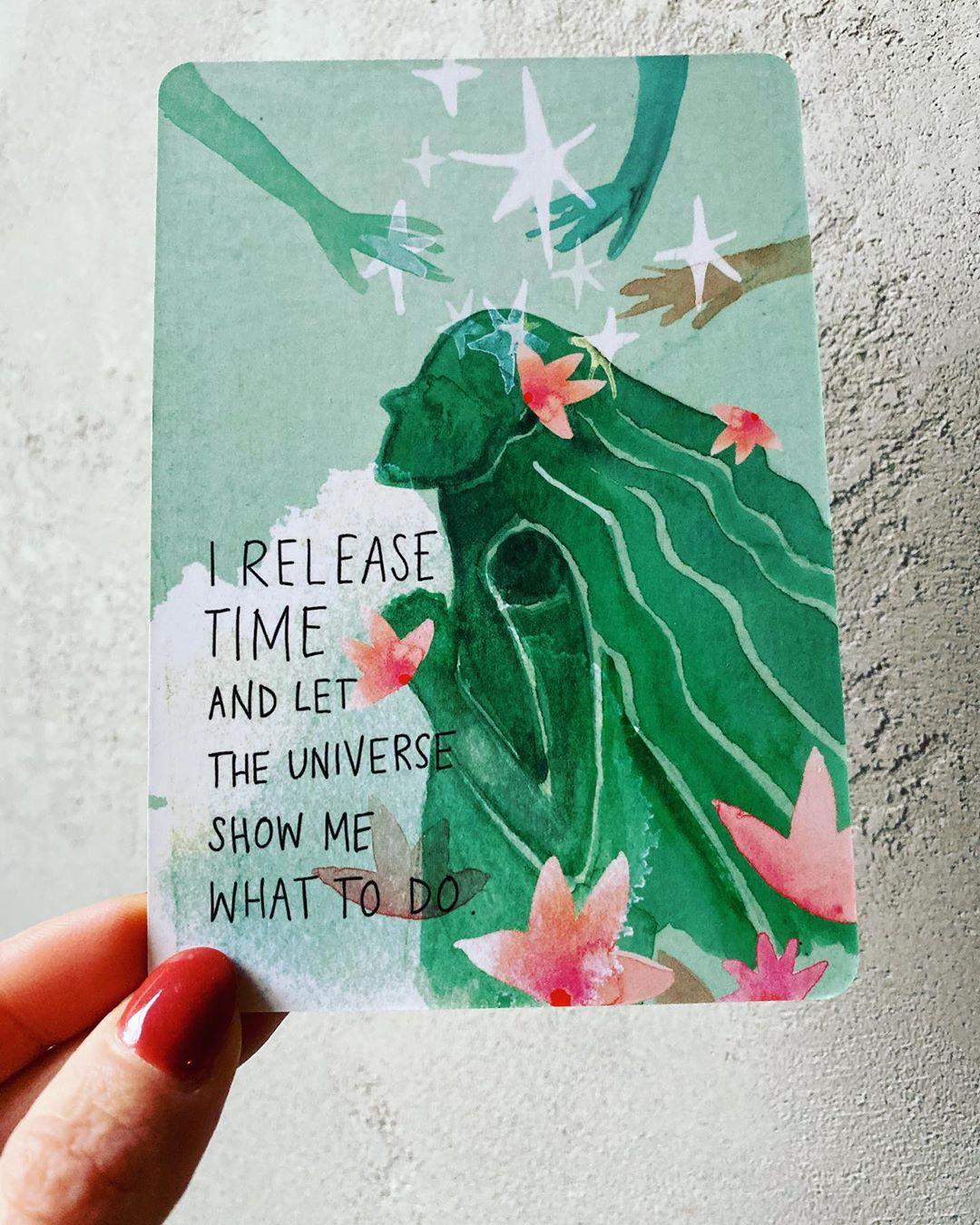 I release time and let the Universe show me what to do | Super Attractor card deck | Gabby Bernstein