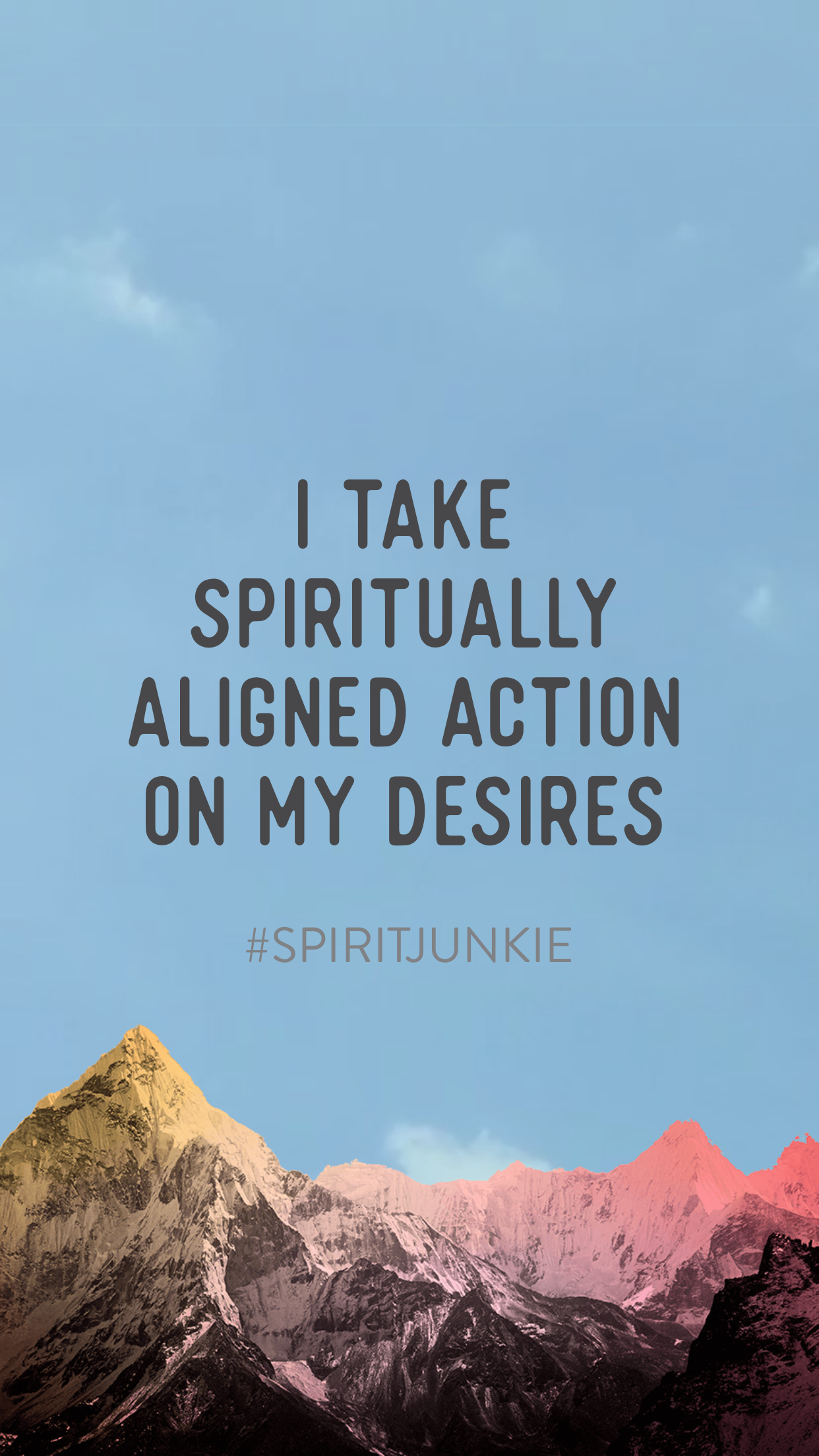 I take spiritually aligned action on my desires | Spirit Junkie App | Visualization meditation to step into your power