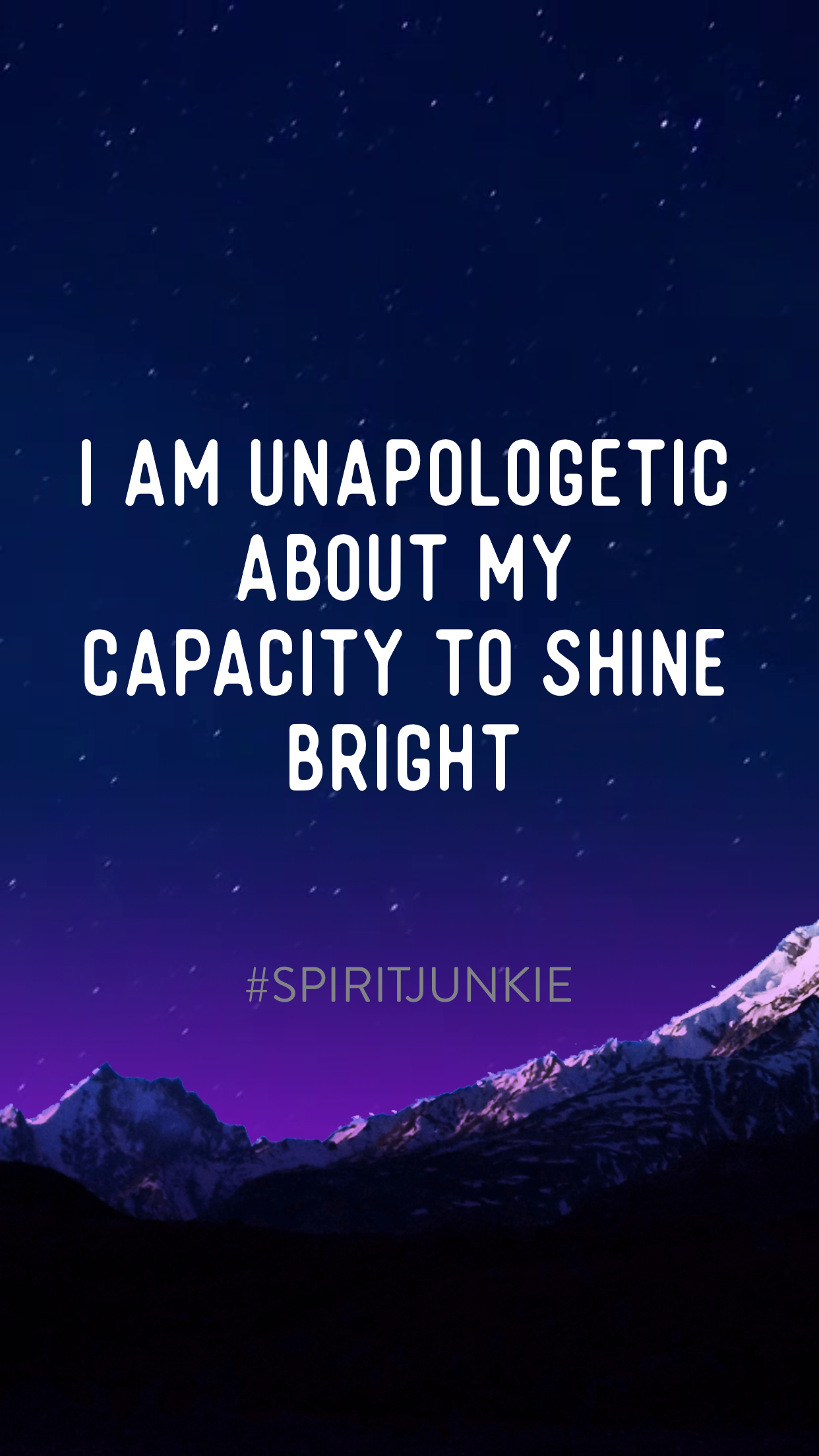 I am unapologetic about my capacity to shine bright | Spirit Junkie App by Gabby Bernstein | How to be more confident