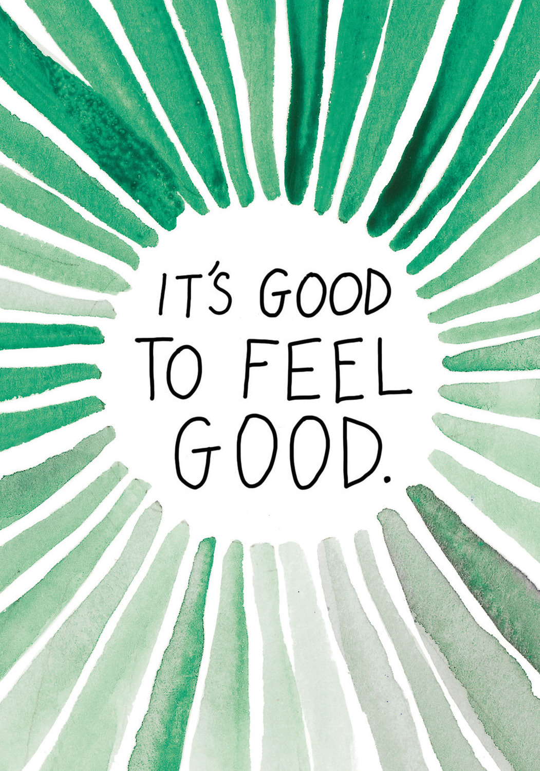 It's good to feel good | Super Attractor card deck by Gabby Bernstein