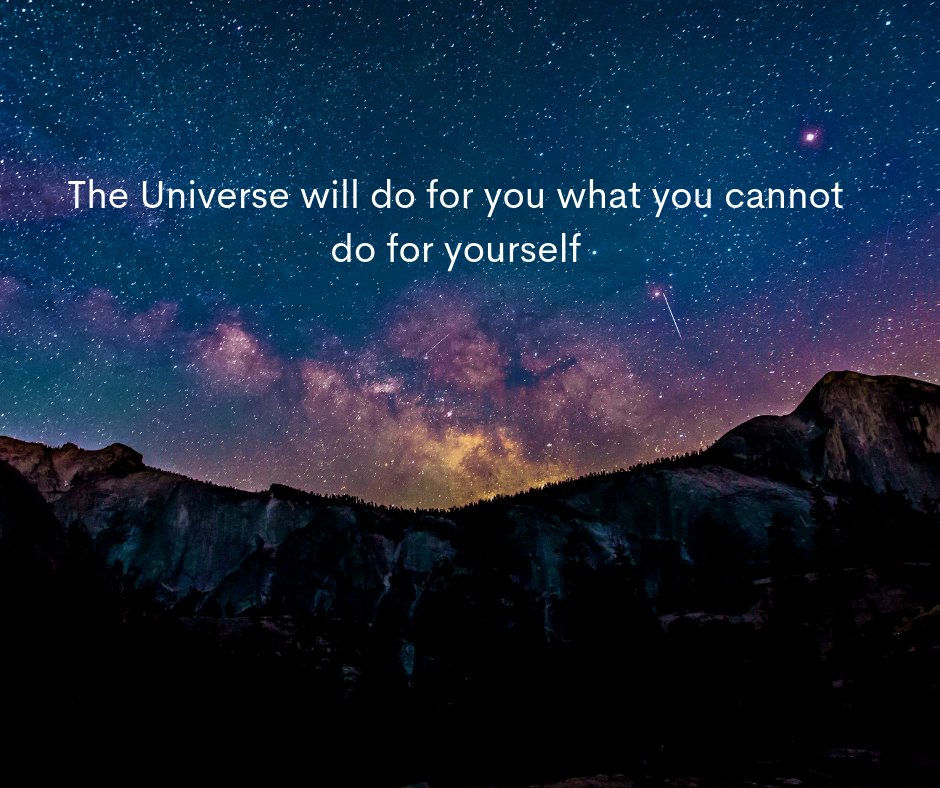 The Universe will do for you what you cannot do for yourself | How to forgive