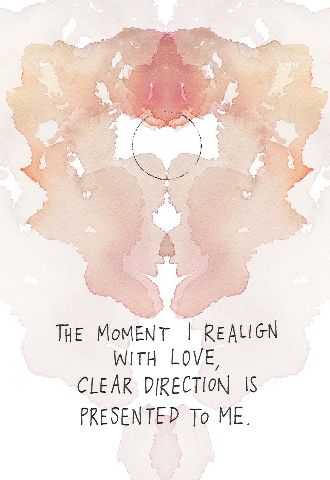 the moment i realign with love clear direction is presented to me gabby bernstein card deck