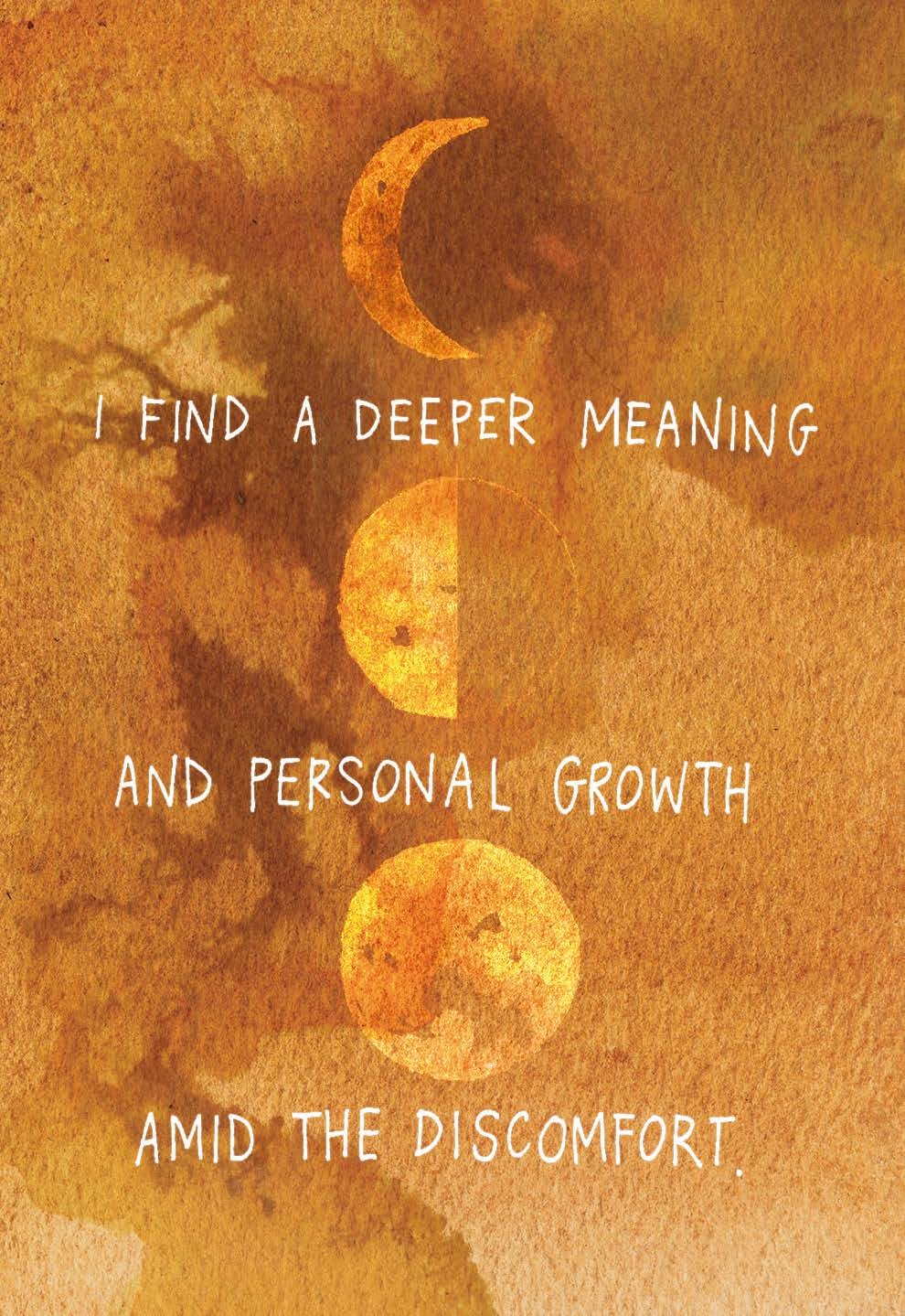 I find a deeper meaning and personal growth amid the discomfort | Gabby Bernstein | The Universe Has Your Back card deck