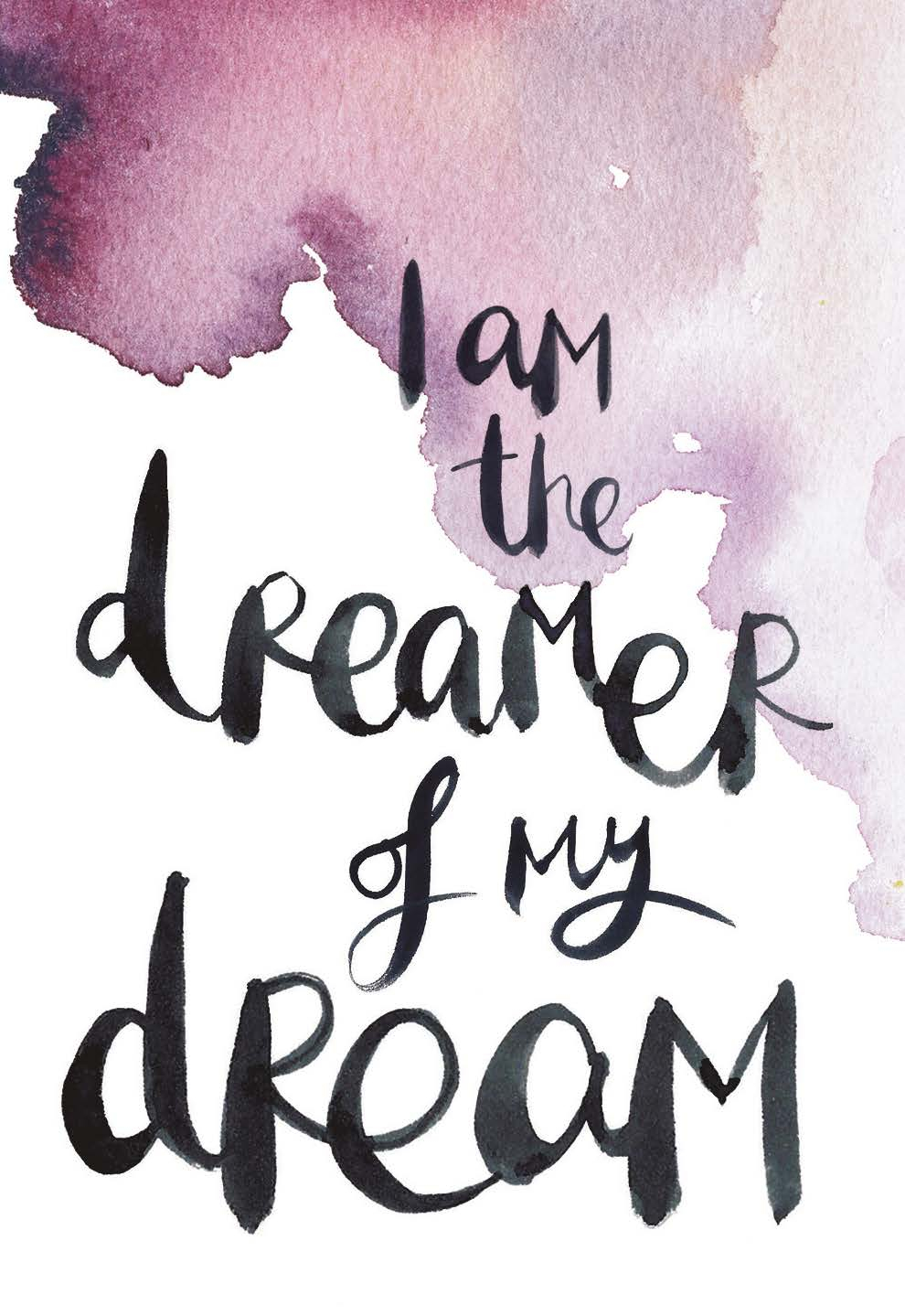 I am the dreamer of my dream. | The Universe Has Your Back card deck by Gabby Bernstein