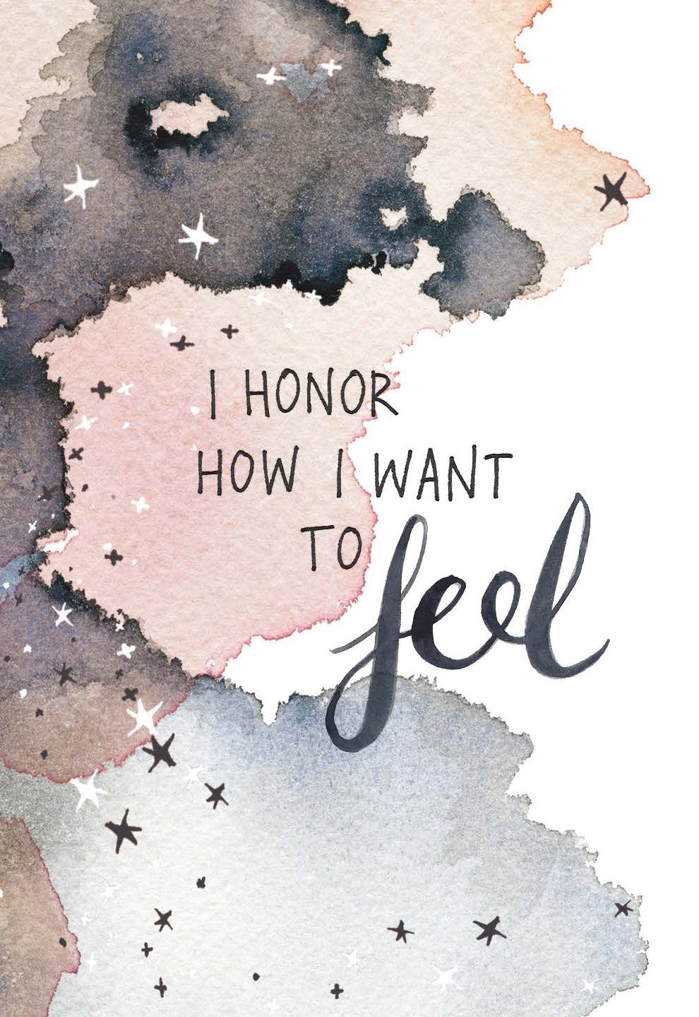 honor how i want to feel card deck gabby bernstein
