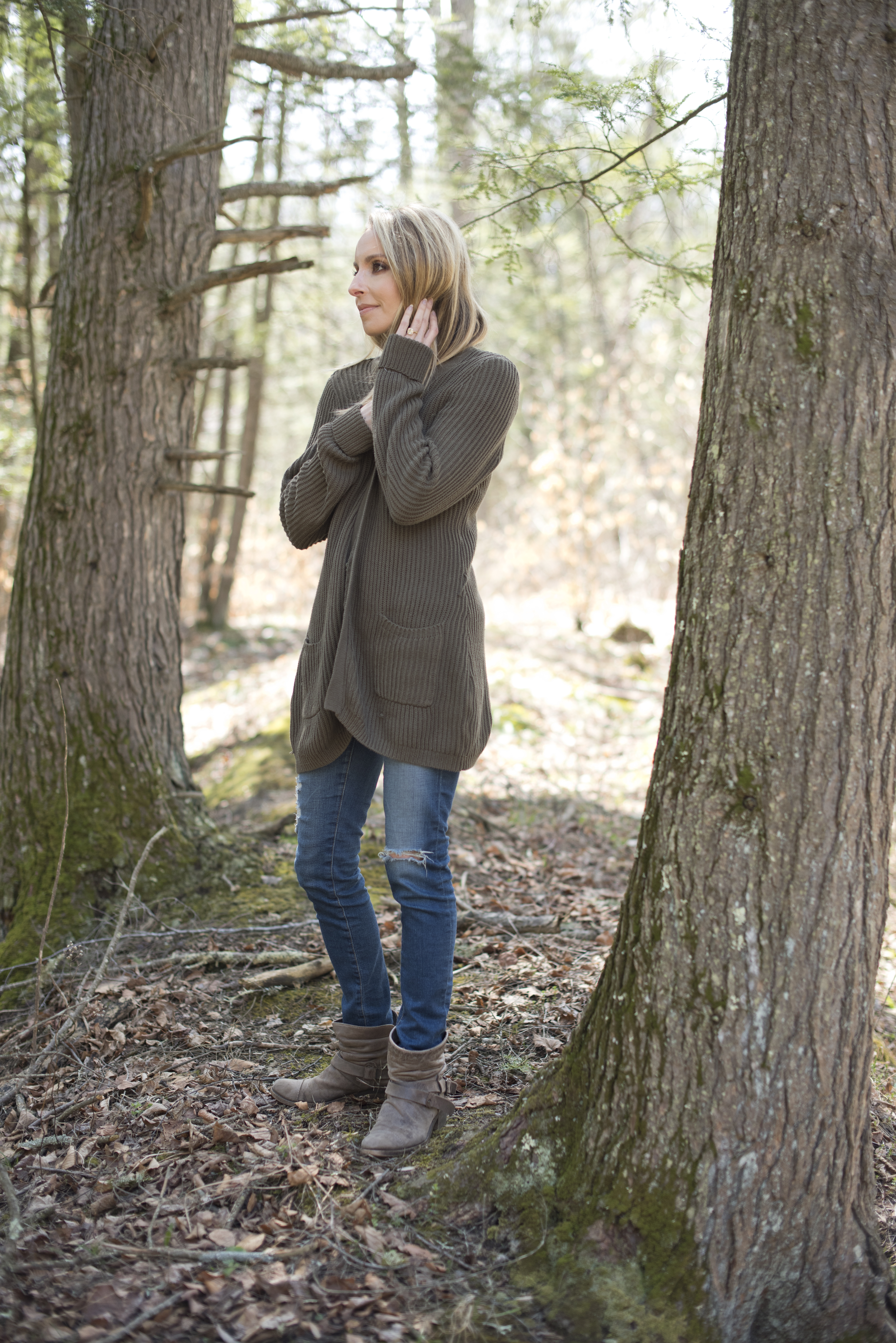 gabby bernstein walking in the woods   re-energize your spiritual practice when life gets busy