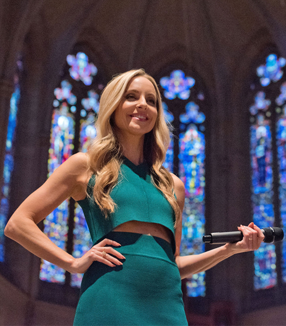 Gabby Bernstein on a book tour | Spiritual questions