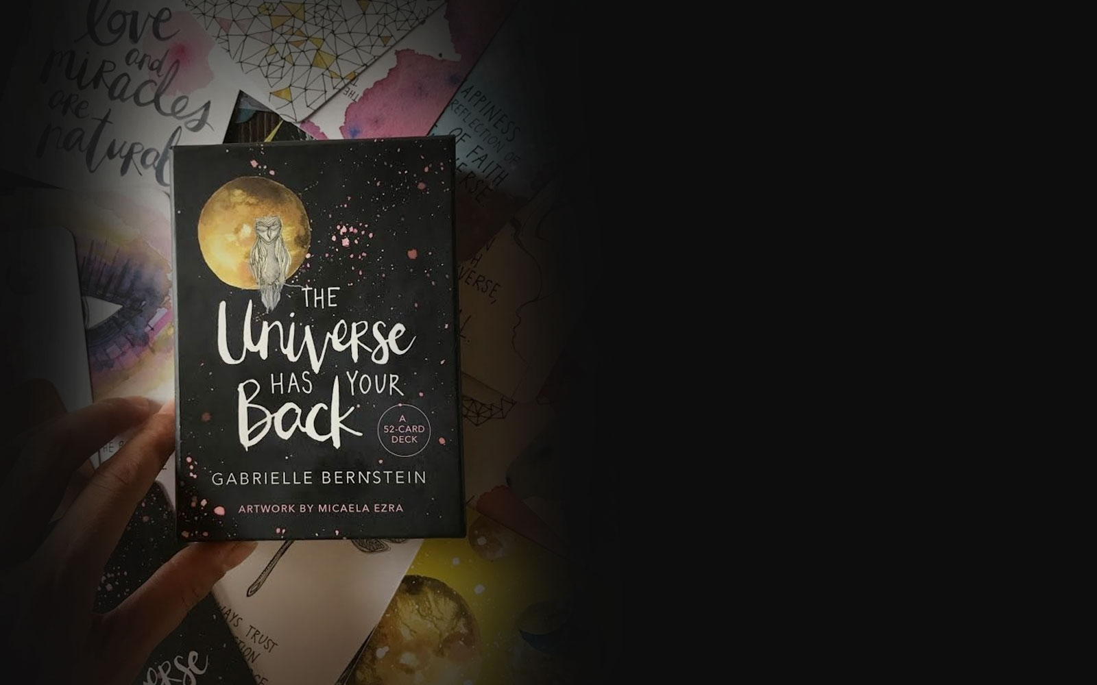 Introducing The Universe Has Your Back Card Deck! - Gabby Bernstein