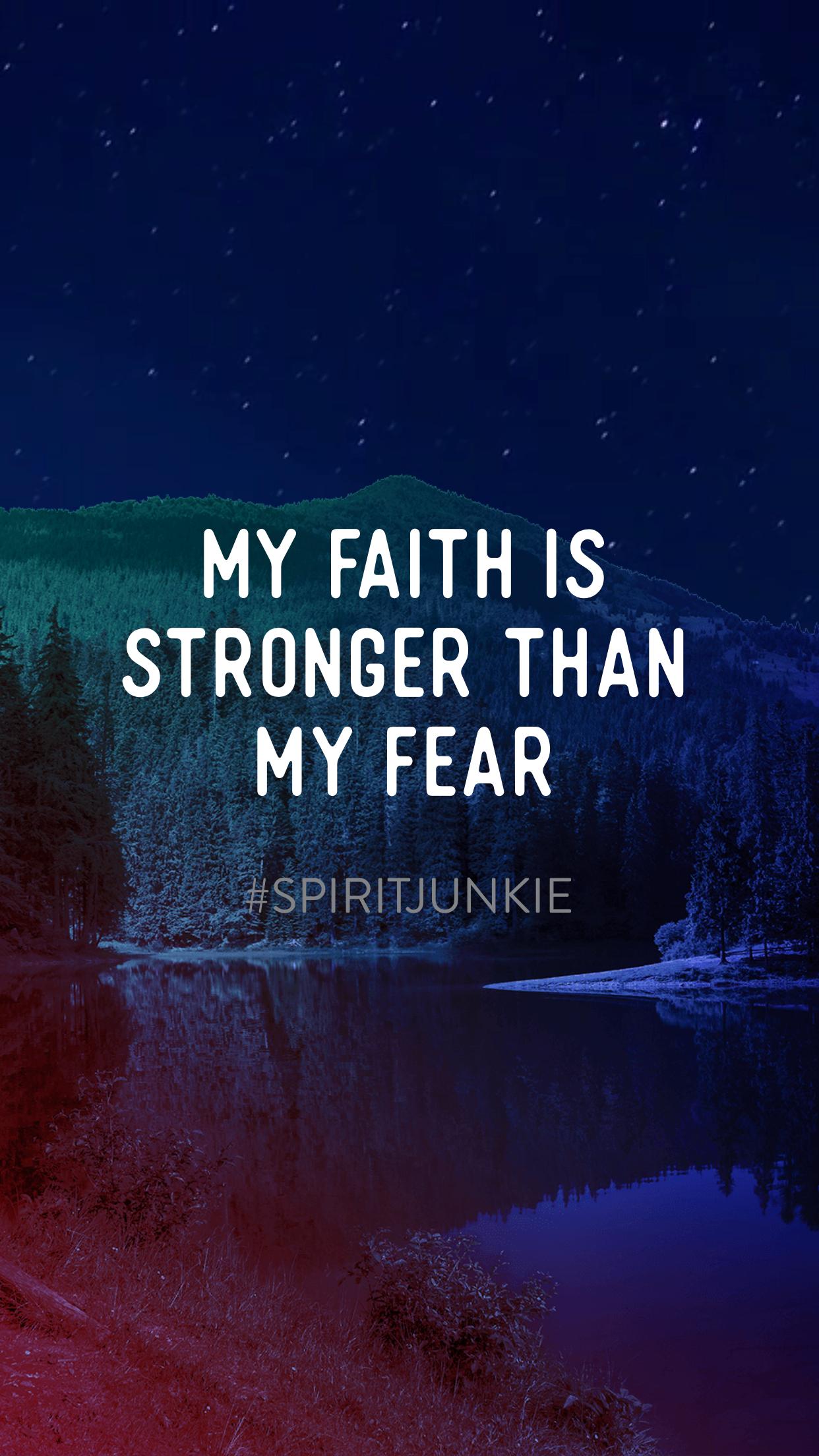 my faith is stronger than my fear gabby bernstein spirit junkie app|feeling good