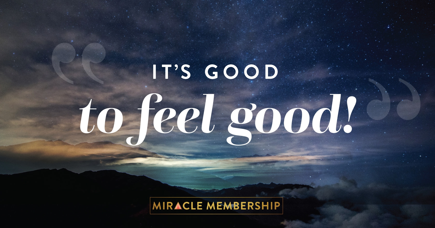 it's good to feel good miracle membership gabby bernstein