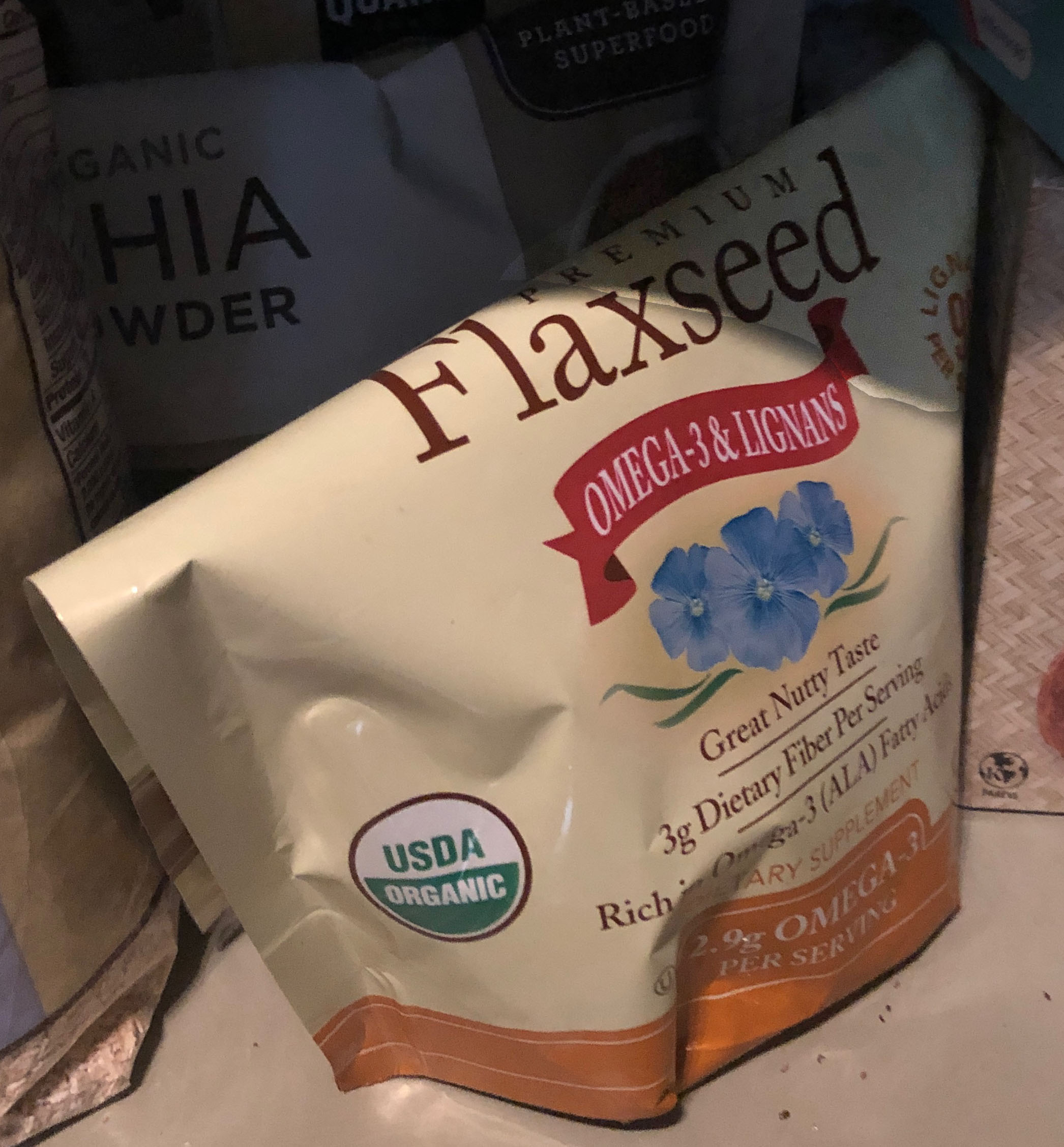 Spectrum ground flaxseed | Peek inside Gabby Bernstein's pantry