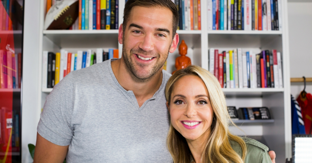 Gabby Bernstein and Lewis Howes