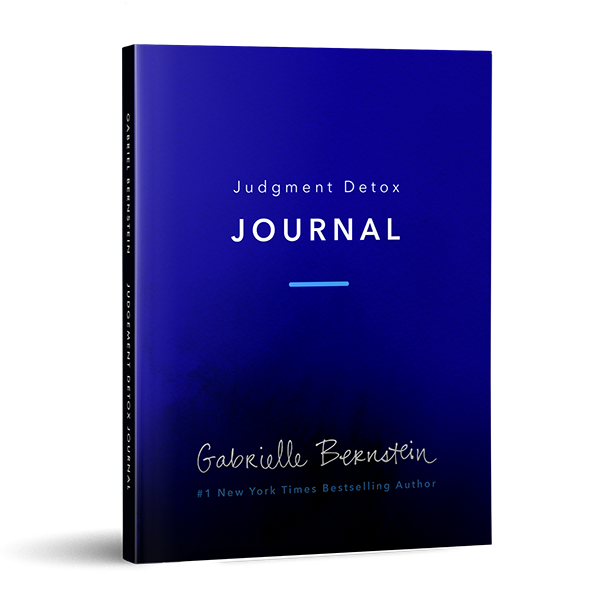 judgment detox journal gabby bernstein